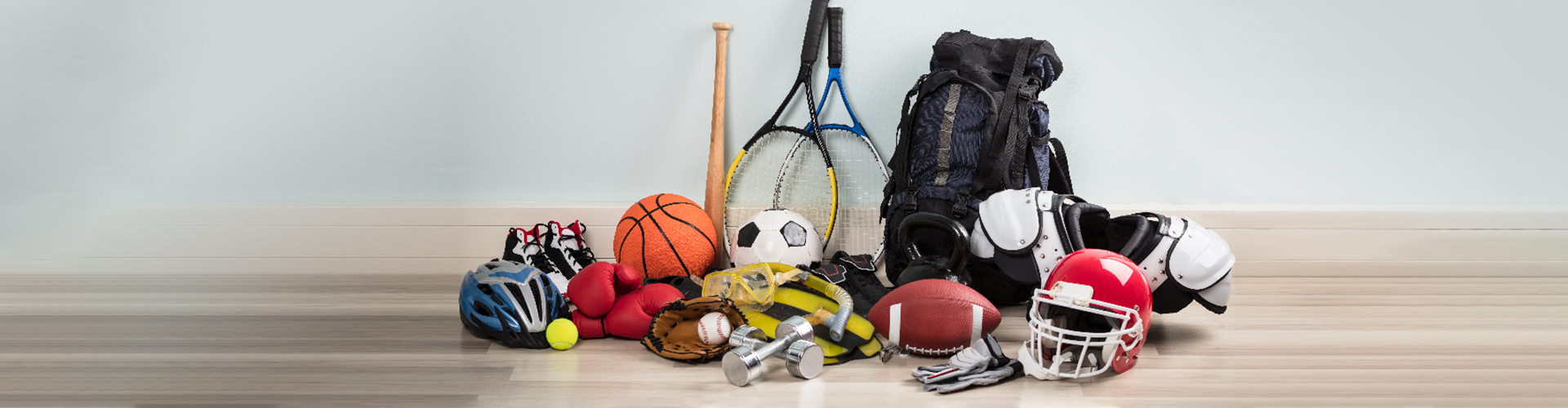 014. Sports Equipment's, tools and Sports wear